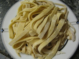 home made gluten free pasta-surprisingly easy & quick to make
