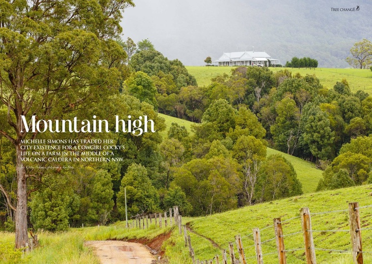 from Australian Country Magazine - the perfect setting for the country property