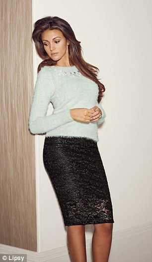 Michelle Keegan unveils full range for Lipsy | Daily Mail Online