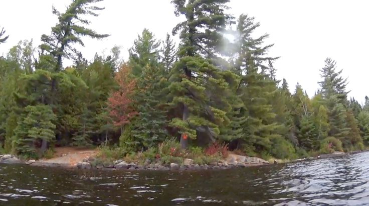 Head Lake south campsite