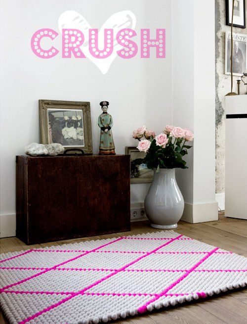 such a cool rugHomedecor, Dots Carpets, Interiors, There Are, Hot Pink, Home Decor, Rugs, The Dots, Dotcarpet