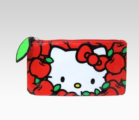 Pencil caseKitty Obsession, Schools Offices, Kitty Junkie, Hellokitty, Pencil Cases, Kitty Pencil, Hello Kitty, Apples Pencil, Kitty Apples