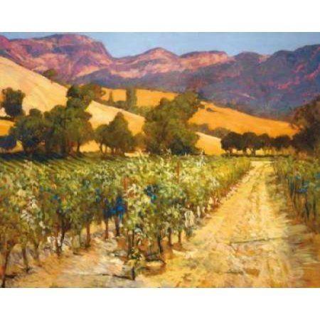 Wine Country Canvas Art - Philip Craig (24 x 30)