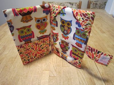 Diary of a Young Teacher: DIY Owl Kindle Cover Tutorial