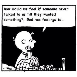 Amen! Charlie Brown said it best!