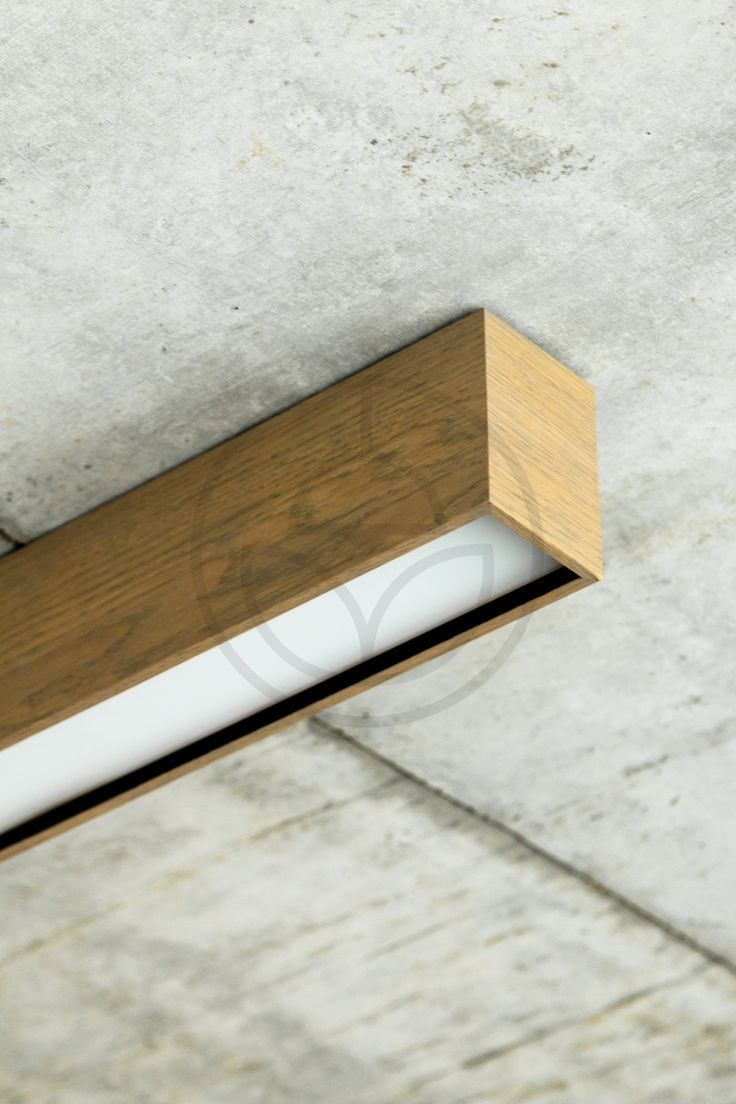 Exclusive linear hanging wooden lamp with built-in LED technology. Lamp is dimmable with 1-10V, DALI and 100kOhm potentiometer. Wood veneer is the option of choice.
