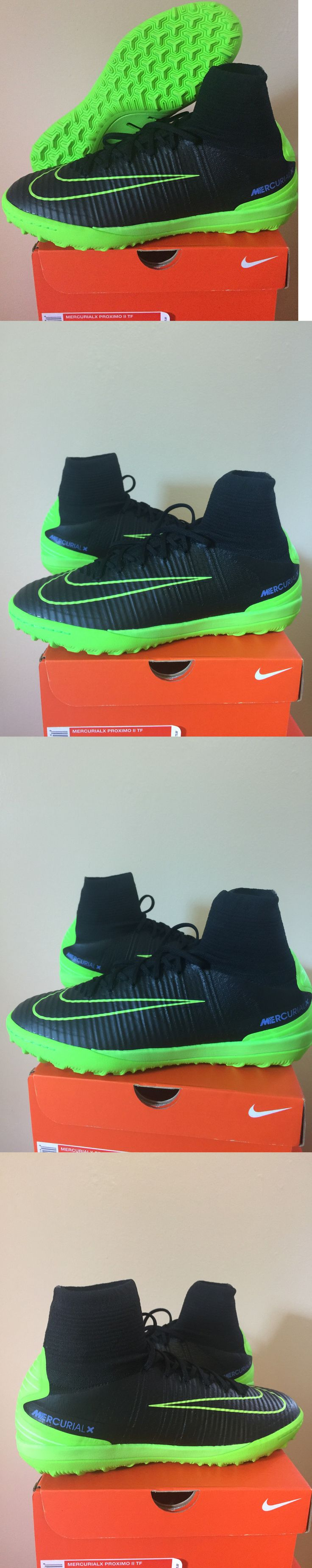Men 109133: Nike Mercurial X Proximo Ii Tf Electric Green Turf Soccer Shoes Volt Black $175 -> BUY IT NOW ONLY: $57 on eBay!