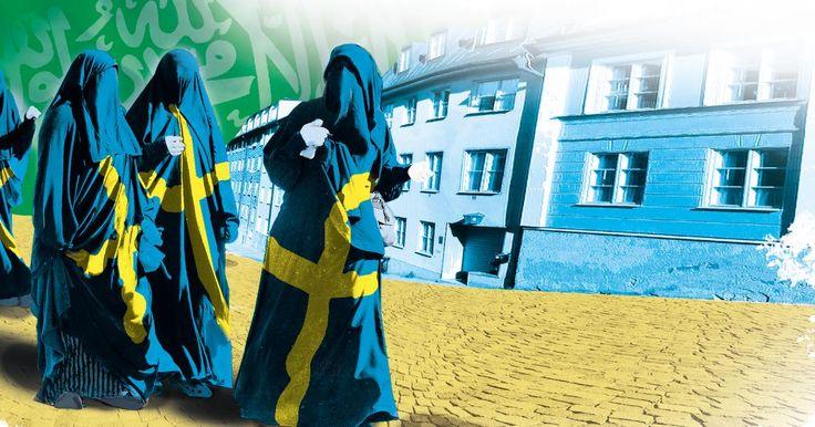 Så vill Saudiarabien omvända Sverige till den islamiska läran.