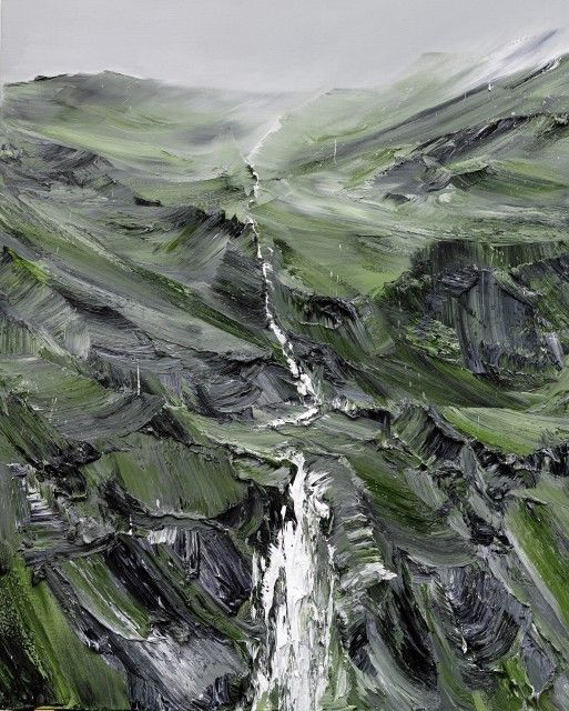 spes 10 2013, 220x180 cm, privatsammlung öl auf leinwand by CONRAD JON GODLY