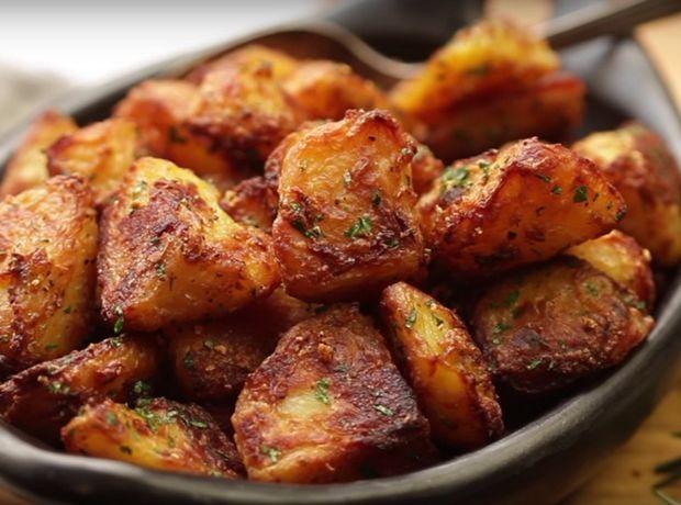 Πατάτες φούρνου with a twist!