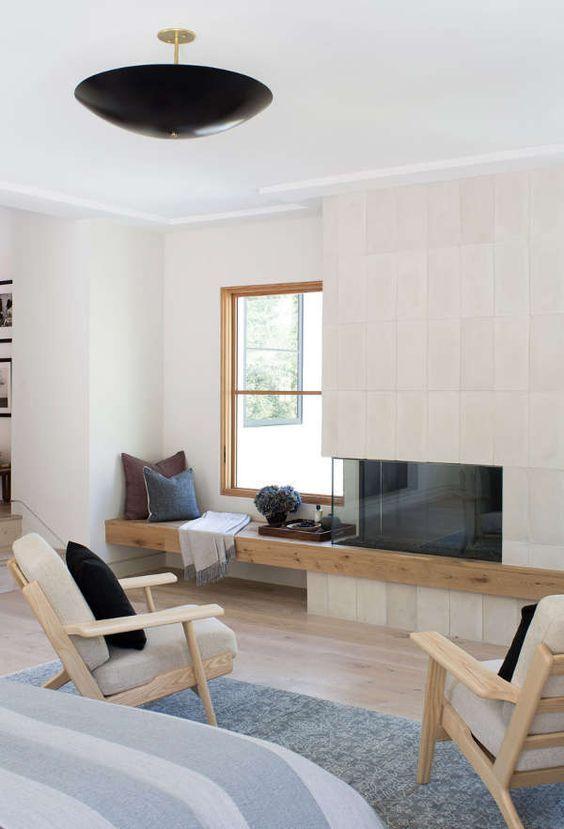 25 Trendy Japandi Interior Design Ideas | Wood living room ...