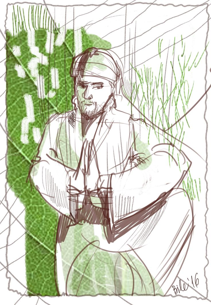 Digital sketch inspired from nature and Asia #asian #culture #dzen