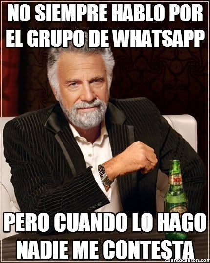 memes sobre grupos de whatsapp - Buscar con Google
