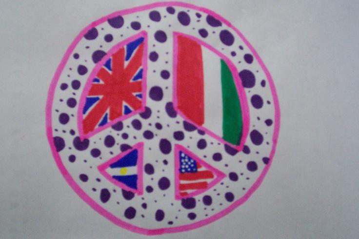 The Cutest peace simbol, i think!! <3