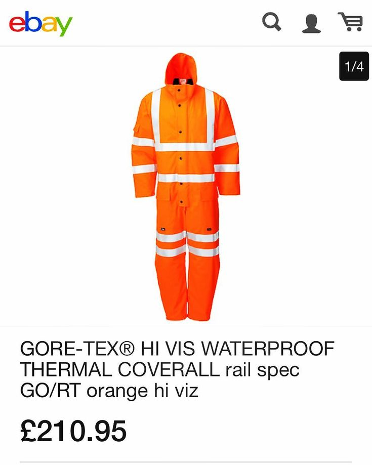 CALLING ALL OUT DOOR WORKERS!! STAY WARM THIS WINTER Available on line - pay with paypal : Fully Waterproof Thermal #goretex coverall ebay.co.uk/itm/GORE-TEX-H #railworker #constructionworker #safety #Workwear #warm #dry