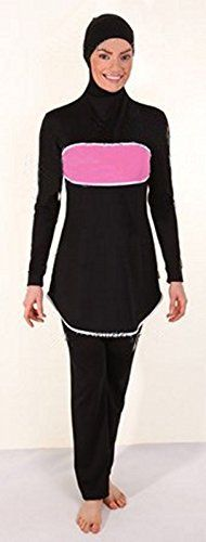 Fashionable Summer Islamic Swimwear   Fashionable Summer Islamic Swimwear  Fashionable Summer Islamic Swimwear  Material Composition: 80%Polyester+20%Spandex  Style:women muslim swimwear  Color and size : as shown in image Please understand that we measure size by hand so some error 1-3 cm may occur.  http://www.yearofstyle.com/fashionable-summer-islamic-swimwear/