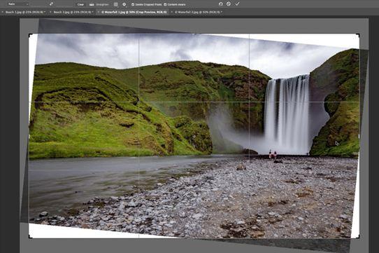Adobe dévoile une future fonctionnalité de recadrage de Photoshop CC