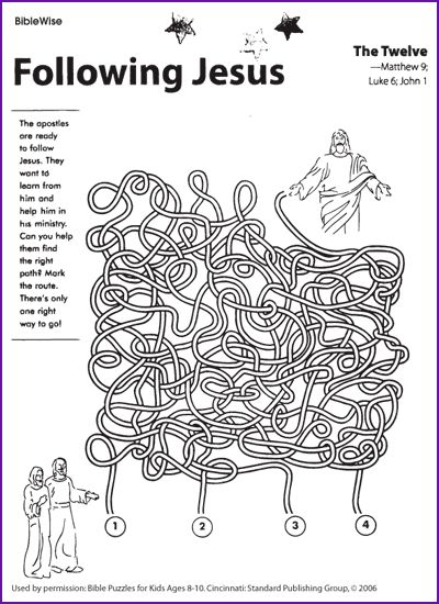 follow jesus coloring pages - photo#16