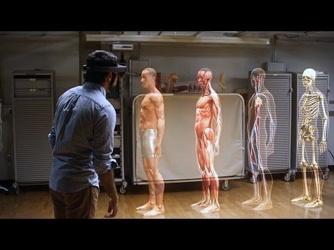 Microsoft Shows The Augmented Future Of HoloLens  https://www.facebook.com/VR-News-1665847633695189/?ref=hl http://VRNews.buzz