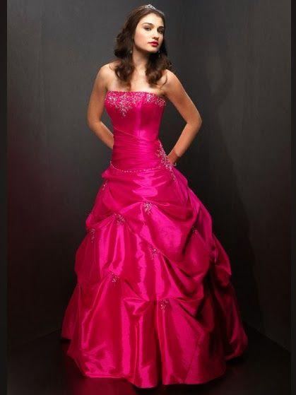 Estupendos vestidos de 15 años estilo sirena