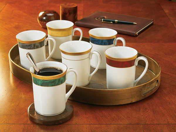 Noritake Majestic Mugs. Available in 5 different colours. www.noritake.com.au