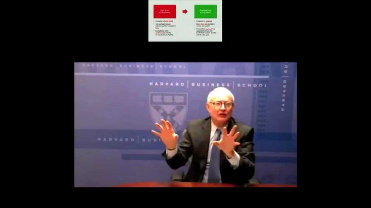 Professor Michael Porter of Harvard University's School of Business discusses competitive strategy. - Lecture Week 3