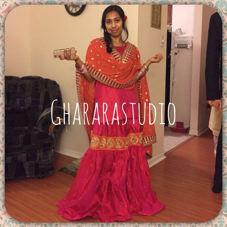 Here is our gorgeous client from Michigan.  Thank you for believing and appreciating our work Order Gharara online from anywhere in the world #gharara #ghararastudio #ghararalovers #wedding #weddingdress #weddinggharara #party #partywear #partydress #partygharara #hotpink #orange #silk #silkgharara #customised #orderonline #followus #michigan #client #lookroyal #lookgorgeous #gharara4u #ghararagirl #deliveryworldwide #getyourdesign #muslimbride #muslimwear #muslimweddingwear