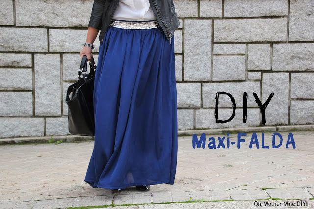 DIY Costura Maxi Falda