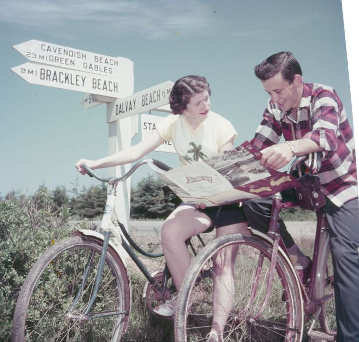 Asking a male to read a map?      #cycling #bicycle #vintagebicycles