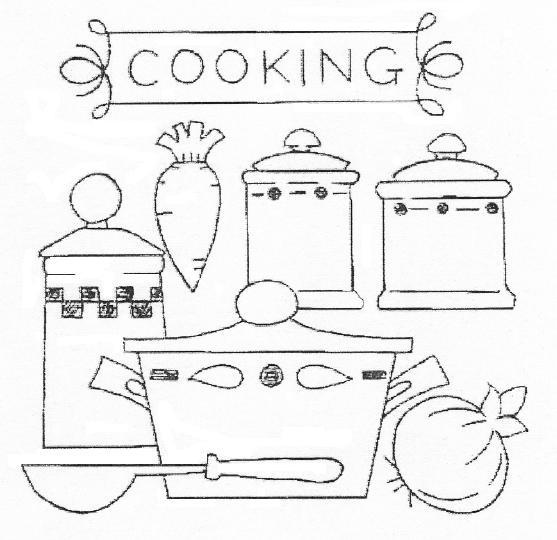 kitchen embroidery embroidery ideashand embroideryred work - Bakers Gonna Bake Kitchen Redwork Embroidery Designs
