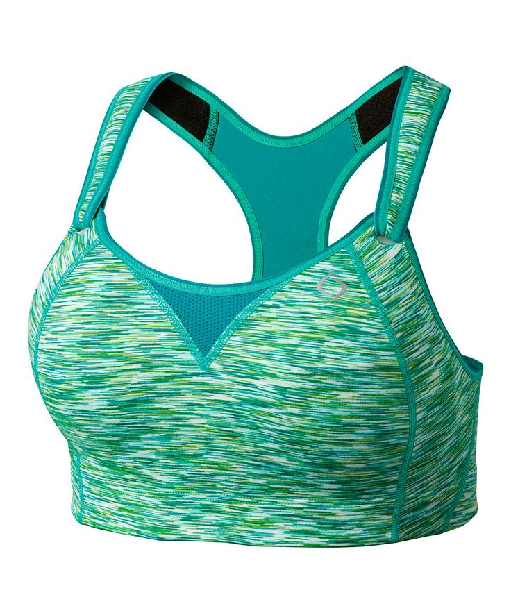 A sports bra that's both supportive and pretty
