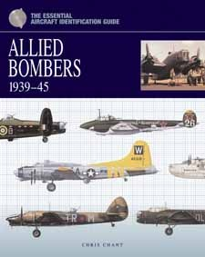 Illustrated with detailed artworks of Allied bomber aircraft and their markings with captions and technical specifications, The Essential Identification Guide: Allied Bomber Squadrons in Europe 1939–45 by Chris Chant, Amber Books, is the definitive study of the equipment and organisation of the Allies' bomber units throughout World War II.