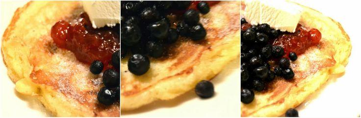 Recept på amerikanska pannkakor