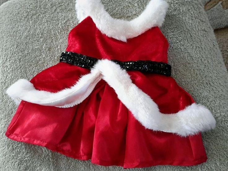 Build a bear Santa dress pre-owned (tbl1) #BuildaBear