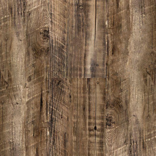 3mm Rustic Reclaimed Oak Click Resilient Vinyl - Tranquility | Lumber Liquidators
