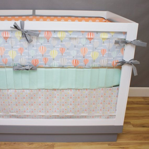 Expolorer Gender Neutral Crib Bedding Baby Bedding by modifiedtot