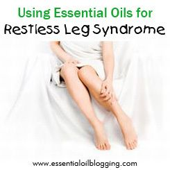 Essential Oils for Restless Leg Syndrome. Check out my website at www.therapureoils.com.