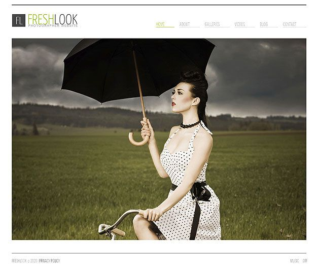 PHOTOGRAPHY PORTFOLIO HTML THEME