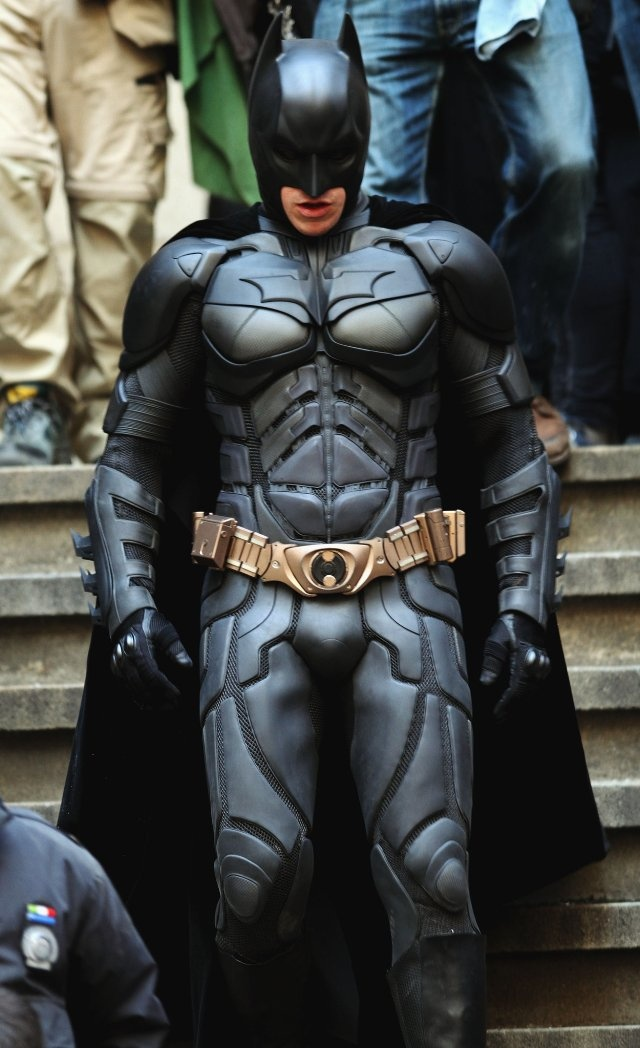Christian Bale at event of The Dark Knight Rises