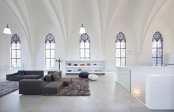 12 Churches Transformed Into Houses on arcilook.com