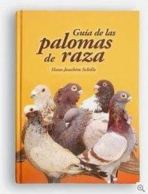 Libro: Guía de las palomas de raza ..  tratado completo sobre palomas escrito en lengua castellana. Se incluyen las razas autóctonas españolas con una descripción amplia de sus orígenes y peculiaridades. Un total de 498 razas descritas e ilustradas con 804 fotos en color conforman una guía de utilidad para todos los aficionados a las palomas... [+] http://www.tuspalomas.es/2014/06/libros-guia-de-las-palomas-de-raza.html