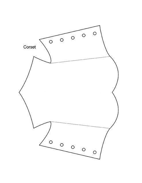 Molde corset