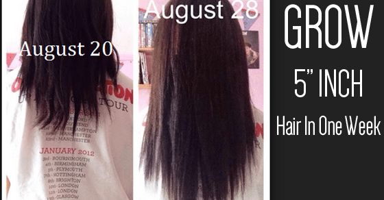 How To Grow Your Hair 3 4 Inches Longer Get Shiny And Thicker Hair Thick Hair Styles Grow Long Hair Diy Hairstyles