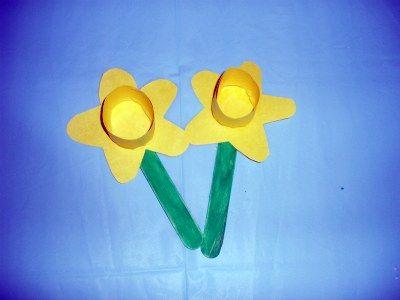 Daffodil Craft For Fun Spring Flower