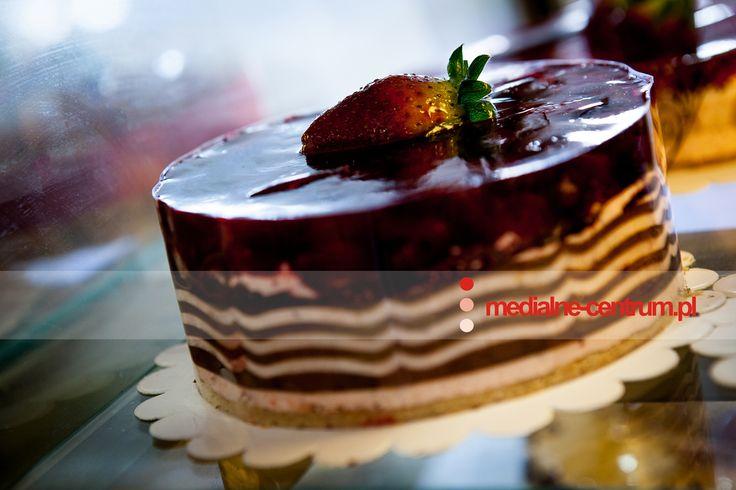 tort owocowy z galaretką cukiernia kawiarnia