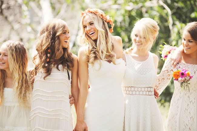Handmade Boho Chic Wedding!  :o)