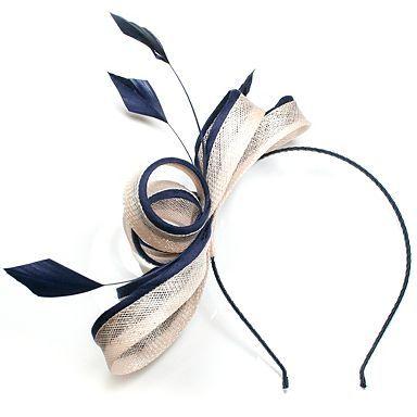 Straw Loops & Piping Fascinator - Fascinators - Hats & fascinators - Women -