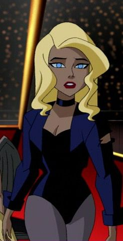 Black Canary in Justice League Unlimited  by ariwolfy