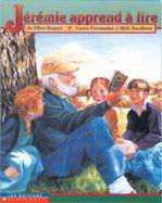 31997000794693 Jérémie apprend à lire. Le vieux Jérémie sait faire plein de choses, mais il ne sait par lire. Il décide d'apprendre. Il se joint aux enfants, se rend à l'école et commence son apprentissage des lettres et des sons. Les enfants l'aident et lui leur montre autres choses. Finalement il sait lire et écrire. Sa femme l'envie et Jérémie propose de lui montrer. Ce récit met en relief l'importance de l'alphabétisation. [SDM]