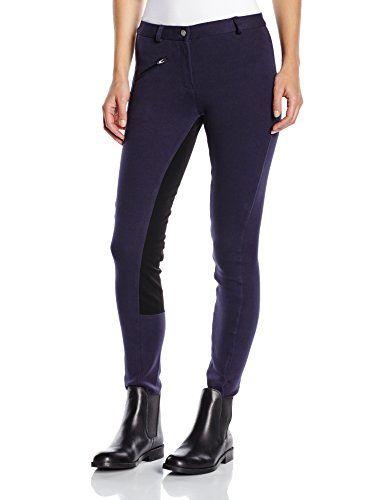 PFIFF - Pantaloni da equitazione con rinforzo integrale, da donna, Blu (blu/nero), 38 Pfiff http://www.amazon.it/dp/B004SYODKW/ref=cm_sw_r_pi_dp_EWwzwb0E5E39J